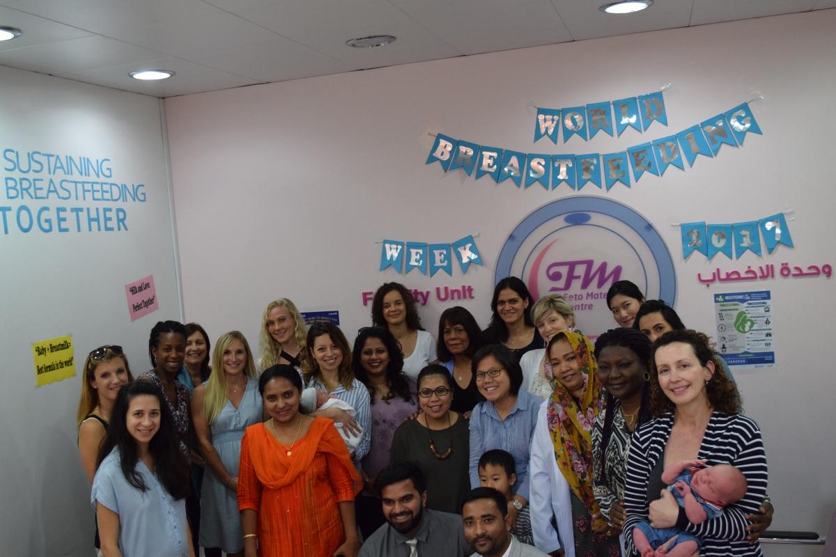 Breastfeeding Event At Feto Maternal Centre  Desert Mama